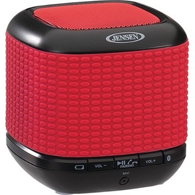 Portable Bluetooth Wireless Speaker - Red