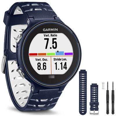 Forerunner 630 GPS Smartwatch - Midnight Blue - Midnight Blue Watch Band Bundle