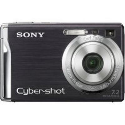 Cyber-shot DSC-W80 7.2-megapixel Digital Camera (Black) - REFURBISHED