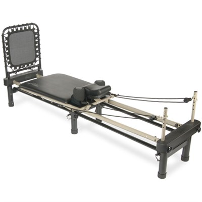 AeroPilates Reformer 700 with Stand & Rebounder, 4-Cord (55-4700)