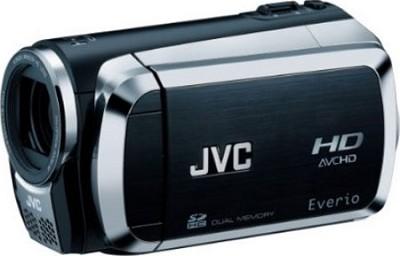 Everio GZ-HM200 Dual SD High-Def Camcorder (Black) - Open Box