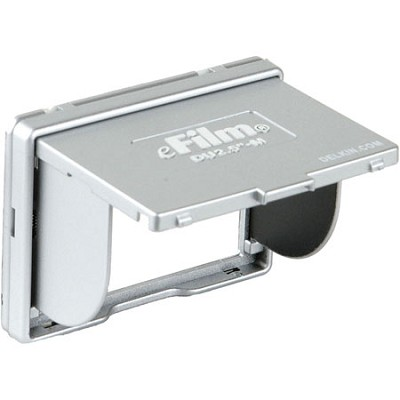 Universal Pop-up Shade for Digital Cameras with 2.5` LCD (Silver)
