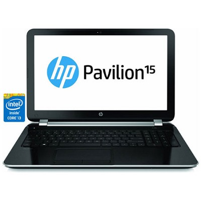 Pavilion 15.6` HD 15-n230us Notebook PC - Intel Core i3-4005U Processor