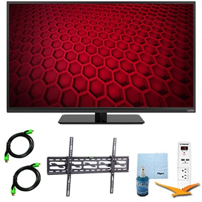 E390-B1E - 39-Inch LED HDTV 1080p 60Hz Plus Tilt Mount & Hook-Up Bundle