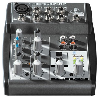 XENYX502 5-Channel Mixer