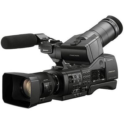 NEX-EA50UH Professional Camcorder with 18-200mm Servo Zoom Lens