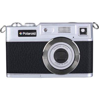 Polaroid iE827 Retro 18MP Digital Camera - Black/Silver