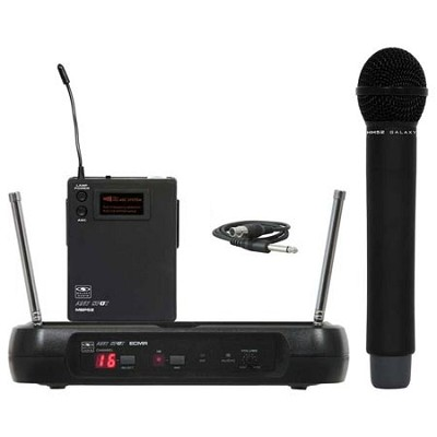 16 Channel Handheld Microphone Transmitter and Receiver -ECMRHH52