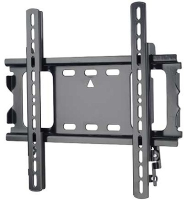 ML22B - Low Profile Flat Wall Mount for 26` - 42` Flat Panel TV's - Black Finish
