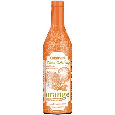 Artisan Soda Syrup, 750ml - Orange