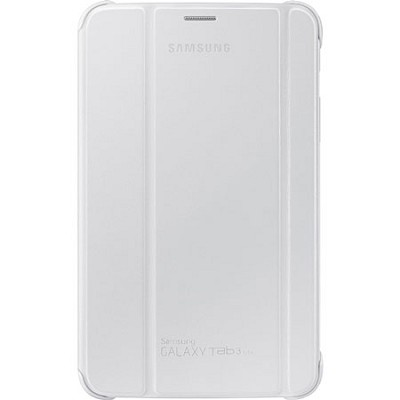 White Book Cover for 7` Galaxy Tab 3 Lite Tablet