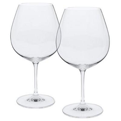 Vinum Burgundy Wine Glasses - Set of 2