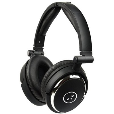 True Fidelity NC210 Noise-Canceling Headphones (Black Chrome)