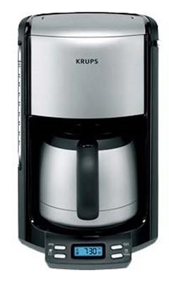 FMF5 10-cup Thermal Prog. Coffee Machine - Black
