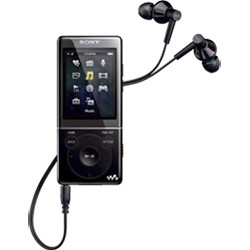 NWZ-E474BLK 8GB E Series Walkman Video MP3 (Black)