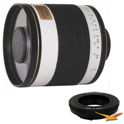 ED500M - 500mm f/6.3 Multi-Coated ED Mirror Lens for Canon EOS