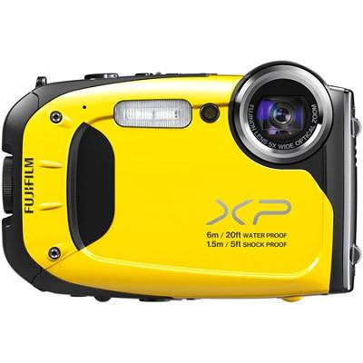 FinePix XP60 16 MP Waterproof Shockproof Freezeproof Digital Camera - Yellow