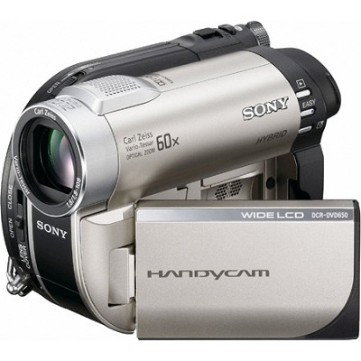 Handycam DCR-DVD650 DVD Digital Camcorder - OPEN BOX