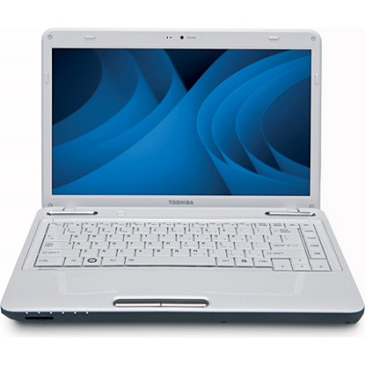 Satellite 14.0` L645D-S4100WH Notebook PC - White AMD Athlon II Dual-Core Mobile