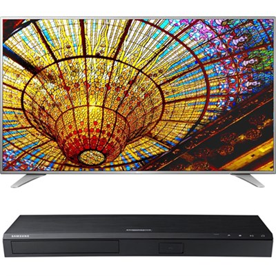 75-Inch 4K UHD Smart TV - 75UH6550 + Samsung UBDK8500 4K UHD Blu-Ray Player