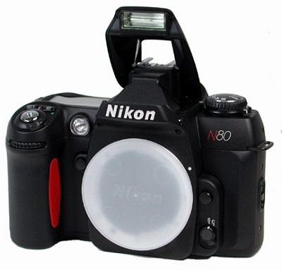 N80 SLR BODY WITH ONE YEAR NIKON USA WARRANTY