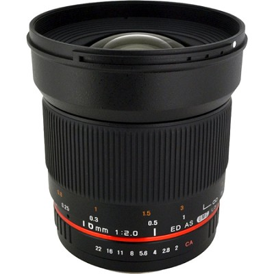 16mm F2.0 Wide Angle Lens for Canon - OPEN BOX