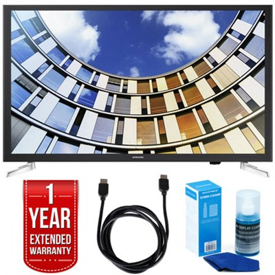 UN32M5300AFXZA 32` LED 1080p Smart HD TV w/ 1 Year Extended Warranty Bundle