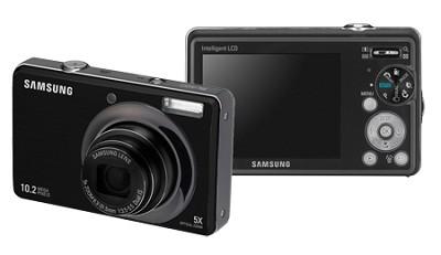 SL420 10MP/ 5X OPT/ MPEG4 Movie/ 2.7` LCD Digital Camera (Black)