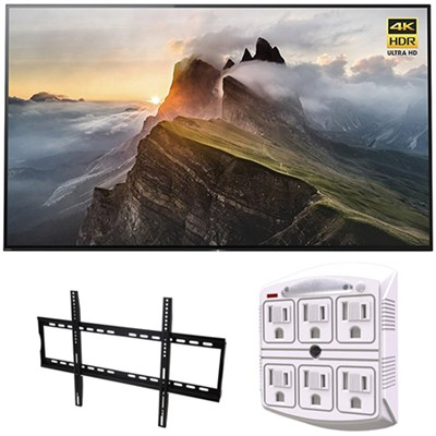 65` 4K Ultra HD Smart Bravia OLED TV 2017 Model with Wall Mount Bundle