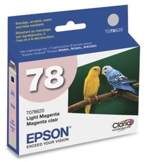 Claria T078620 Hi-Def Ink Cartridge Light Magenta