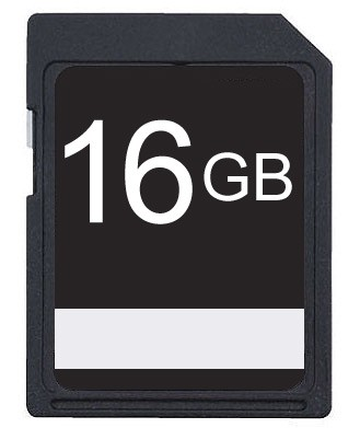 16GB SDHC Class 10 High Speed Memory Card