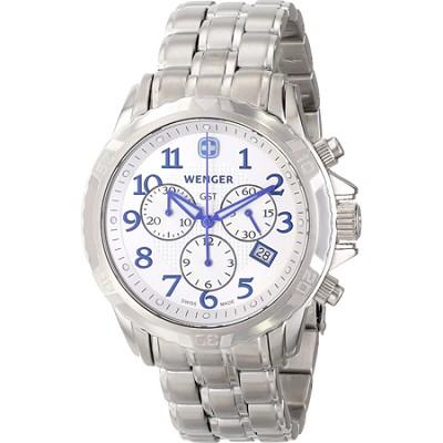 Men's GST Chrono Watch - Silver Dial/Stainless Steel Bracelet