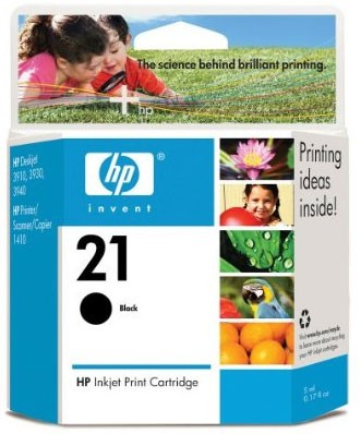 PS HP 21 Black Inkjet Print Cartridge
