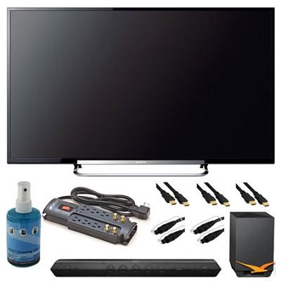 KDL-60R550A 60` 1080P 120Hz WiFi Smart 3D LED HDTV and Sound Bar Bundle