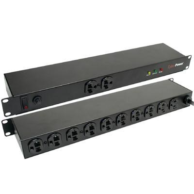 12-Outlet 20A Rackmount Surge Strip - CPS-1220RMS