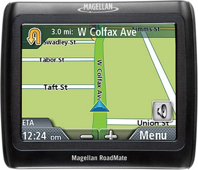 RoadMate 1220 Portable Car GPS Navigation System
