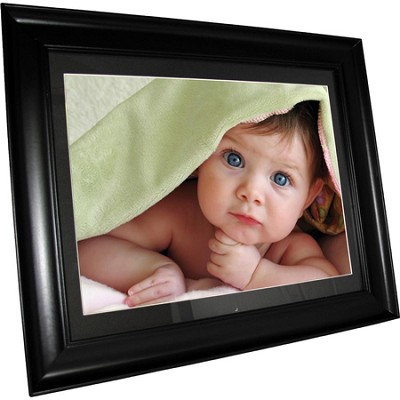 DFM1514 15` Digital Photo Frame 1024x768 Resolution/4GB Internal Mem - OPEN BOX