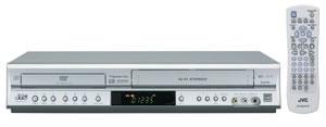 HR-XVC17S - DVD + 4 Head Hi-Fi VCR Progressive Scan Dual Deck (Silver)