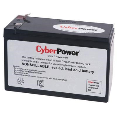 RB1280 Replacement Battery Cartridge, Maintenance-Free, User Installable