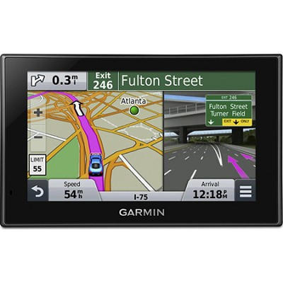 nuvi 2689LMT Advanced Series 6` GPS Navigation System w Bluetooth Lifetime Maps
