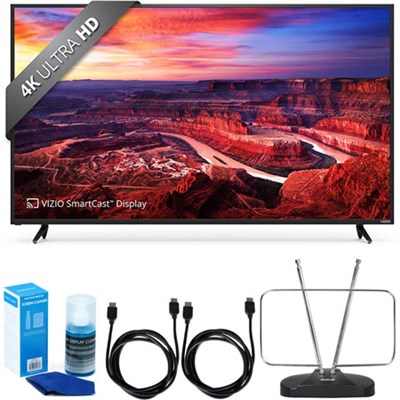 E55-E2 SmartCast 55` UHD Home Theater Display TV w/ FM Antenna Accessory Bundle
