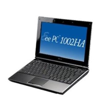Eee PC 1002HA 160G - Brushed Aluminized (XP operating system)