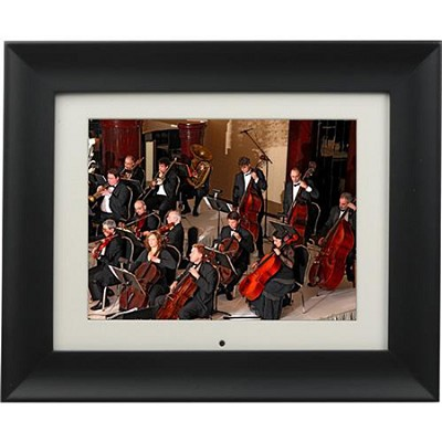 ADMPF210 - 10.5' Digital Photo Frame w/ 256MB Memory, Wireless Black) OPEN BOX