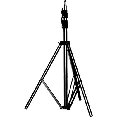 6' Basic Black Light Stand, 5/8'` Stud+015 Top