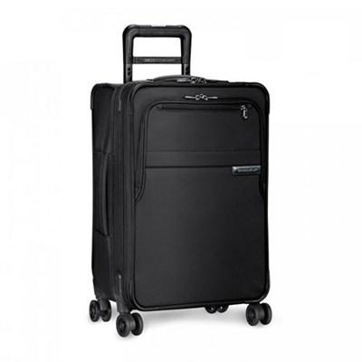 Baseline Collection 25` Medium Expandable Luggage Spinner (Black) U125CXSP-4
