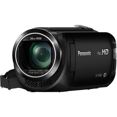 HC-W580K Full HD Cam w/ Wi-Fi, Built-in Multi Scene Twin Camera - Blk - OPEN BOX