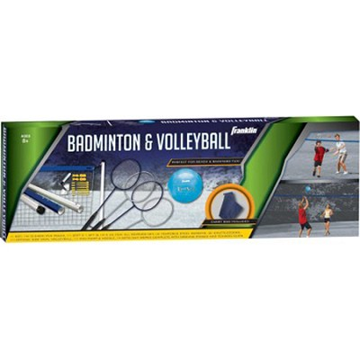Recreational Badminton/Volleyball Set Combo