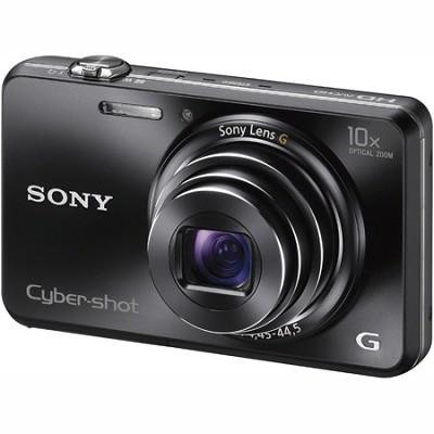 Cyber-shot DSC-WX150 18.2 MP 10x Optical HD Video 3D Sweep Camera (Black)