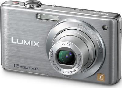 DMC-FS15S LUMIX 12.1 MP Digital Camera w/ 5x Optical Zoom (Silver) - Refurbished
