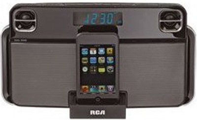 RC66i Portable iPod Clock Radio